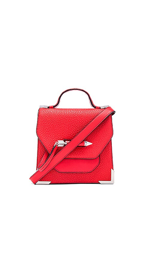 Mackage Rubie Mini Crossbody Bag in Red