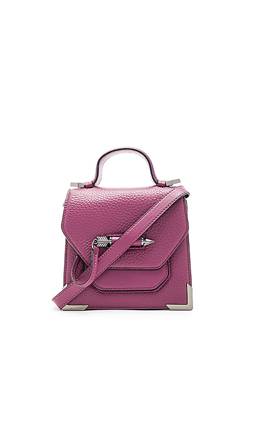 Mackage Rubie Mini Crossbody Bag in Purple