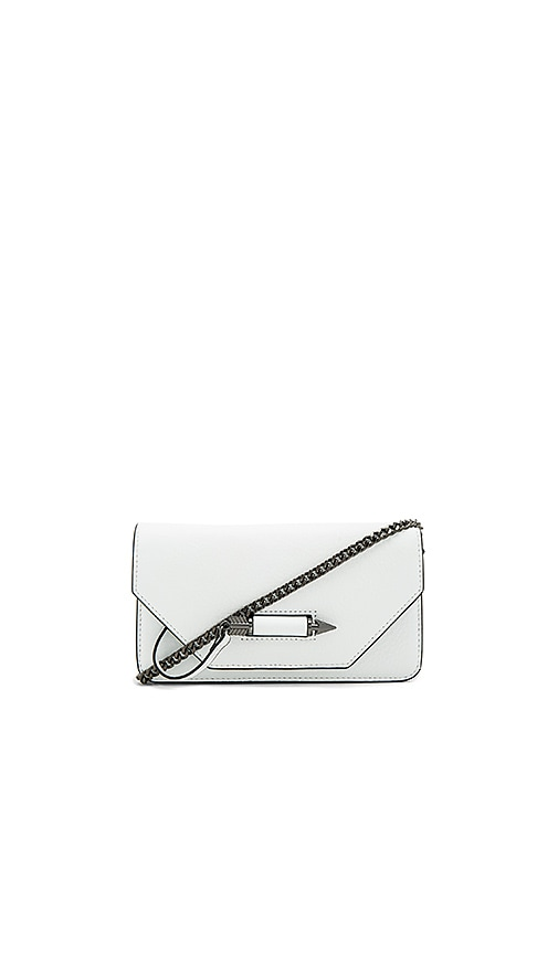 Mackage Zoey C Clutch in White