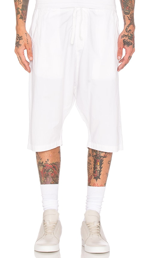 Maharishi Summer Long Shorts in White