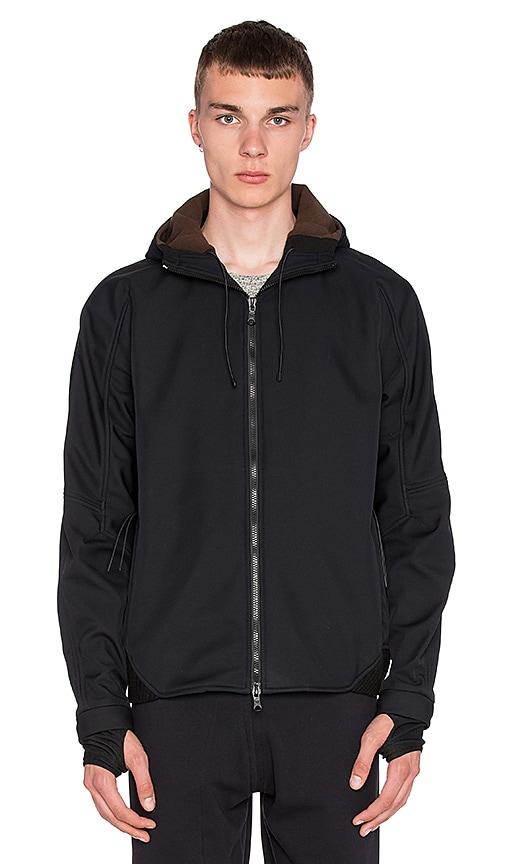 Maharishi Integrated Hooded Jacket in Black