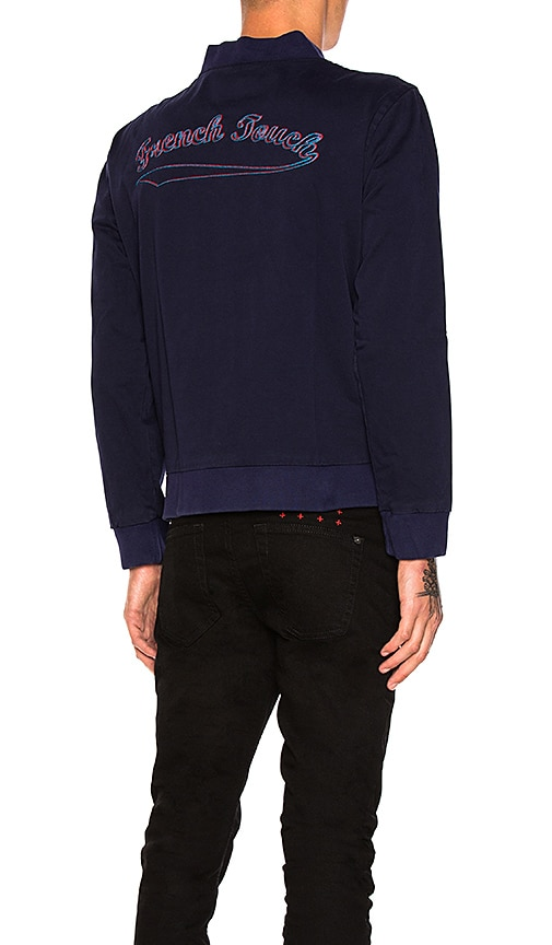 Maison Labiche Teddy French Touch Jacket in Navy