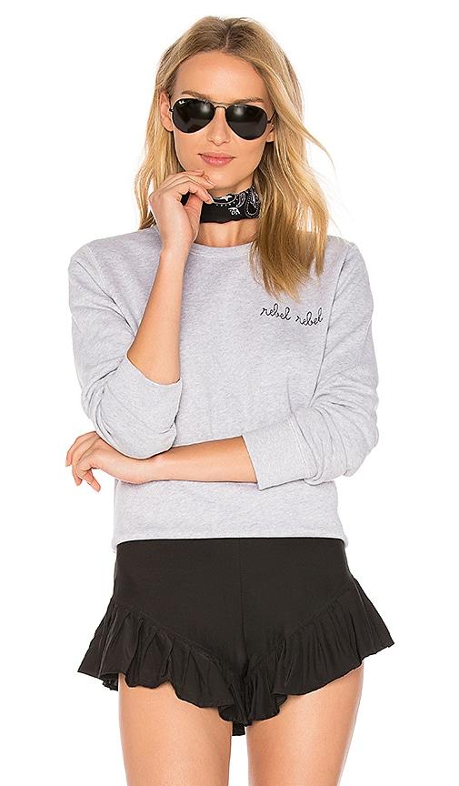 Maison Labiche Rebel Rebel Sweatshirt in Gray