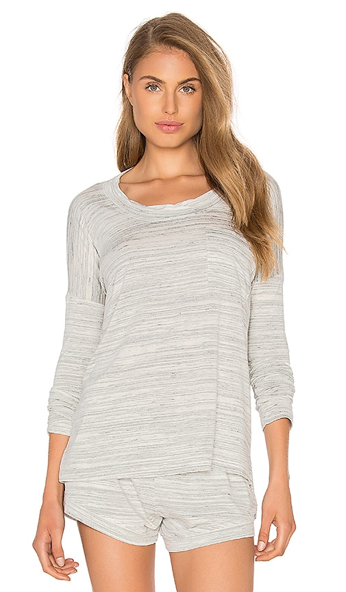 MAISON DU SOIR Edith Top in Gray