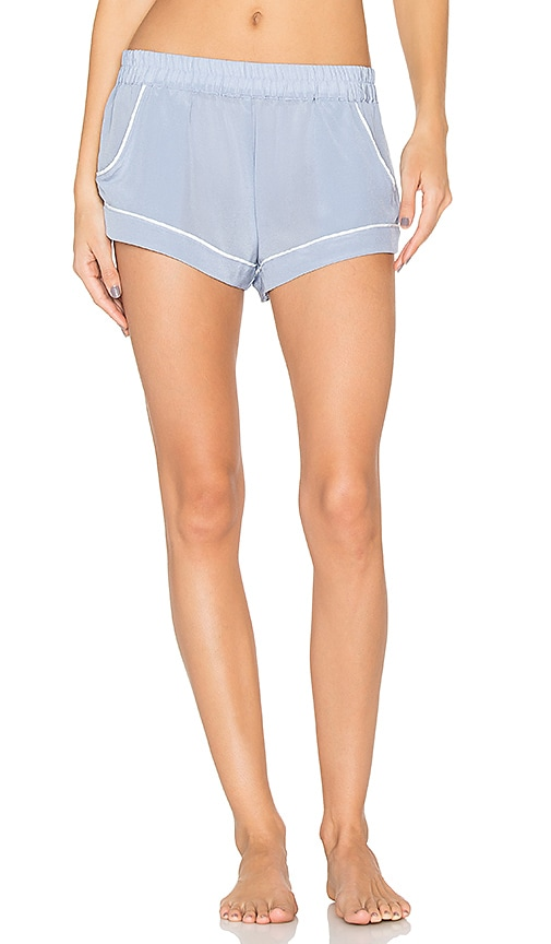 MAISON DU SOIR Jaclyn Shorts in Blue