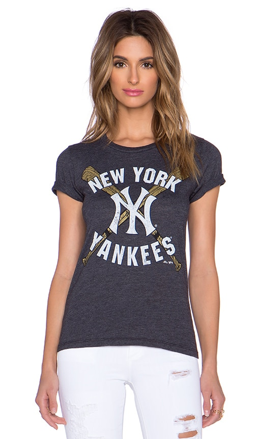 Majestic Threads Yankee Tee in Navy