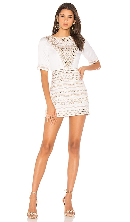 Majorelle MAJORELLE Layne Dress in Ivory.
