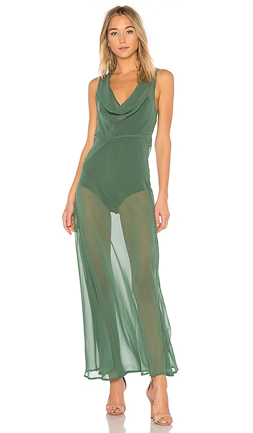 MAJORELLE x REVOLVE Olivia Dress in Green