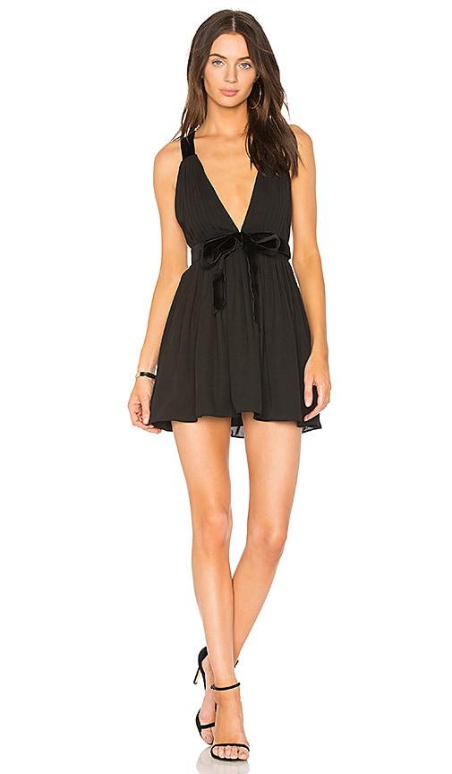 MAJORELLE April Dress in Black