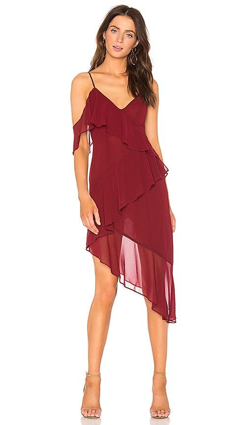 MAJORELLE x REVOLVE Pixie Dress in Burgundy
