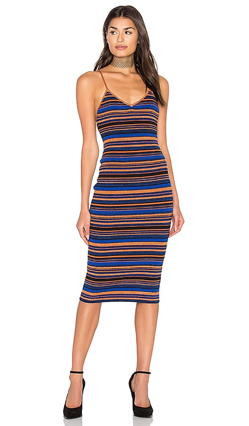 MAJORELLE Allison Dress in Blue