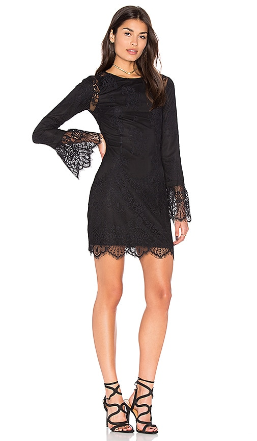 MAJORELLE Lulu Dress in Black
