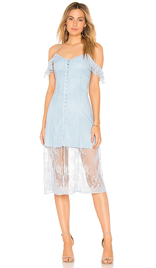 MAJORELLE White Oak Dress in Blue