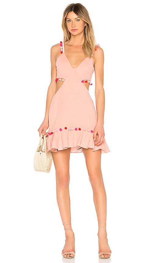 MAJORELLE Capsize Dress in Blush