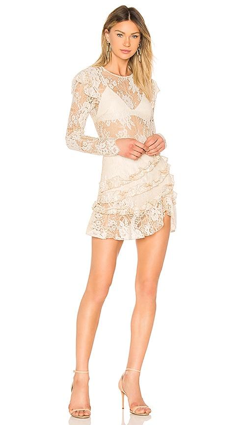 MAJORELLE Lee Dress in Cream
