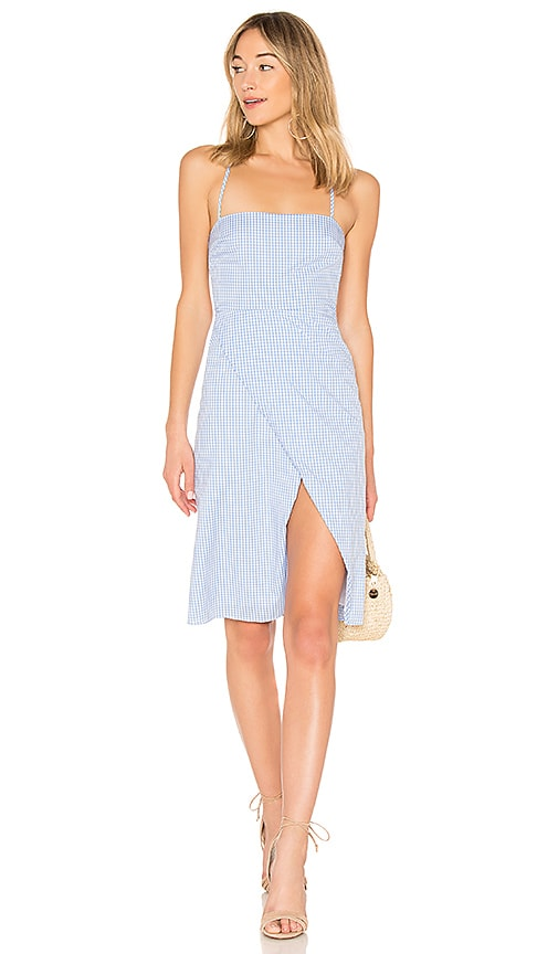 MAJORELLE Mila Dress in Blue