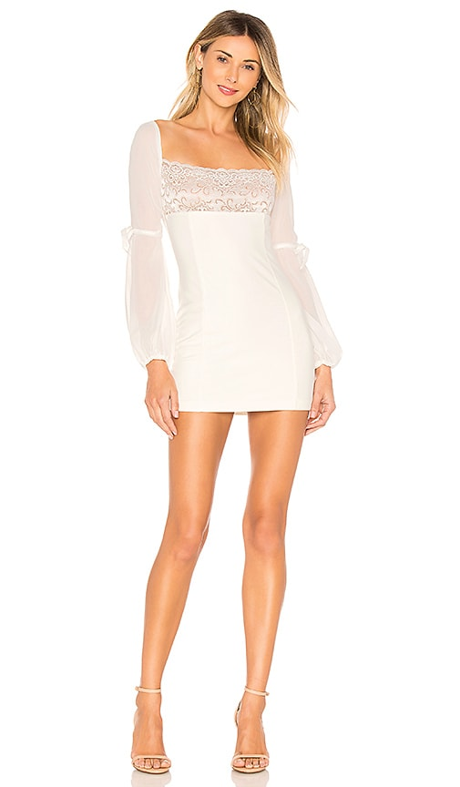 MAJORELLE Lilou Dress in White