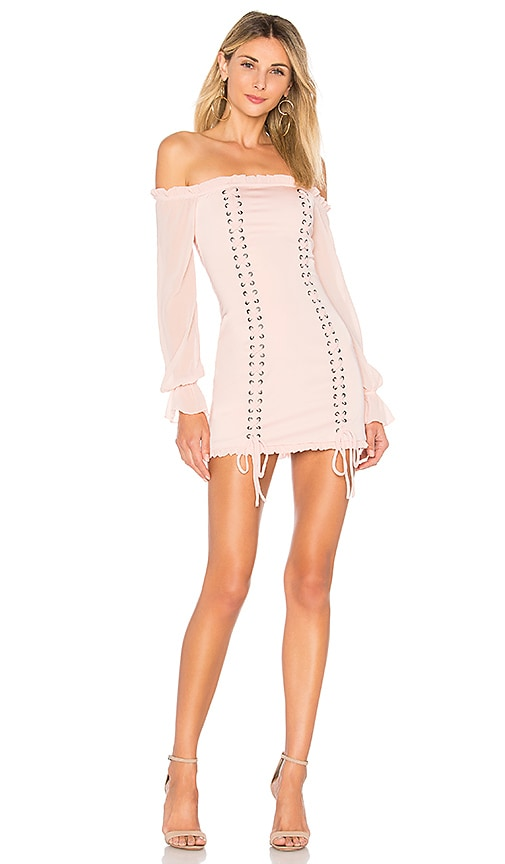 MAJORELLE Collette Dress in Pink