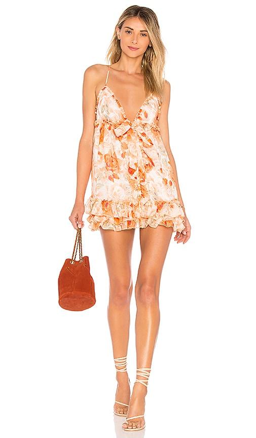 MAJORELLE Penny Dress in Orange