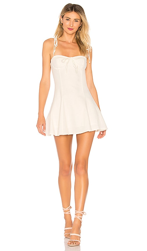 MAJORELLE Tahoe Dress in Ivory
