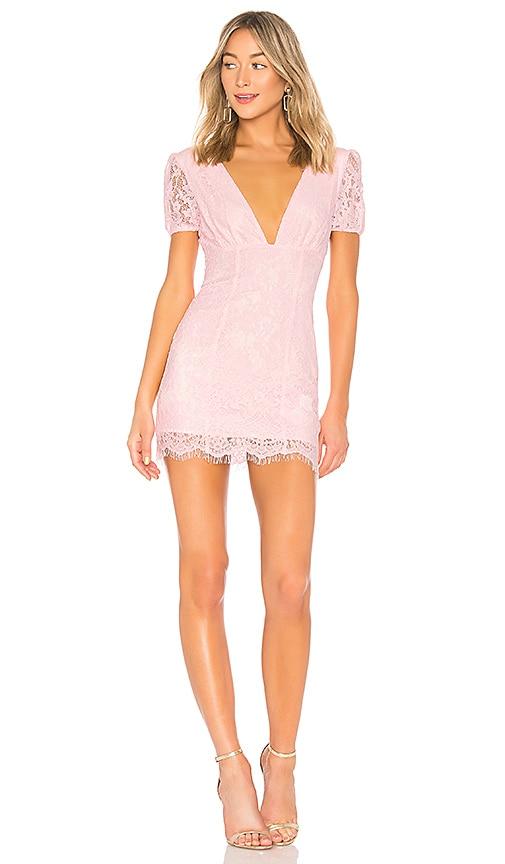 MAJORELLE Nora Mini Dress in Pink