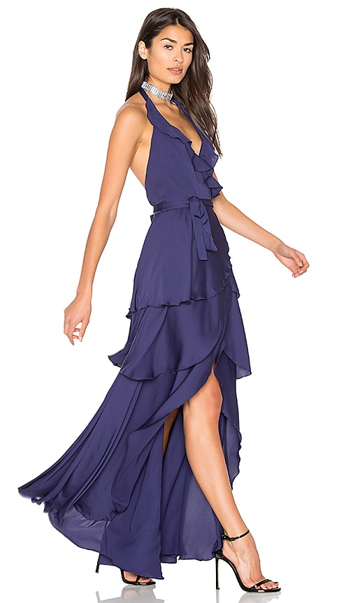 MAJORELLE Victoria Falls Dress in Navy