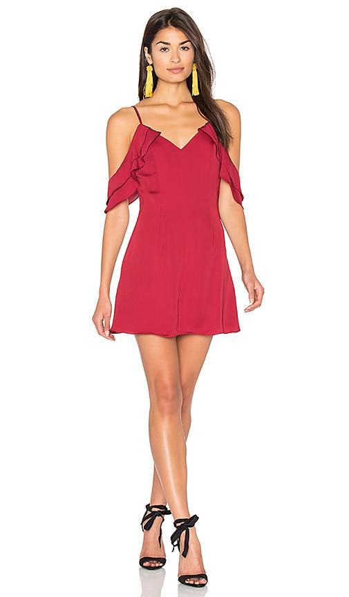 MAJORELLE Prestige Dress in Red