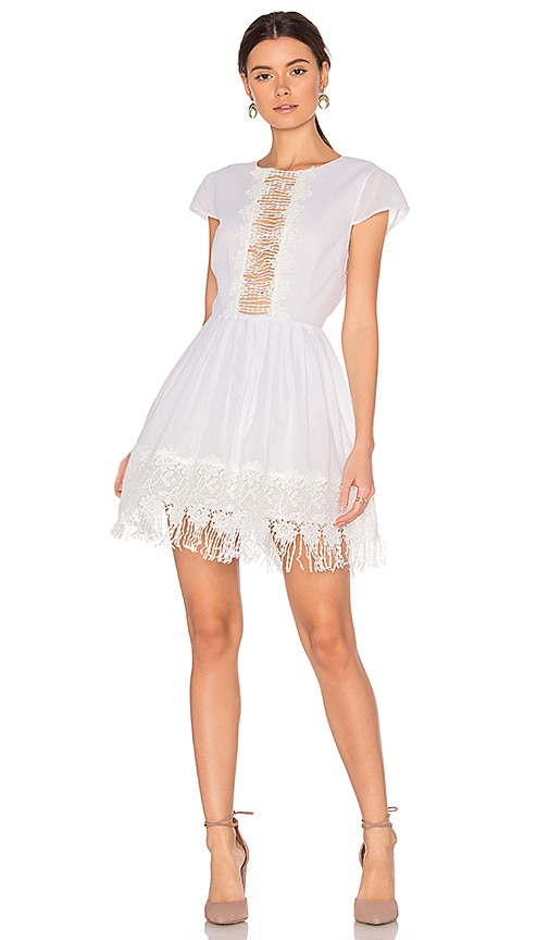 MAJORELLE Liberty Dress in White