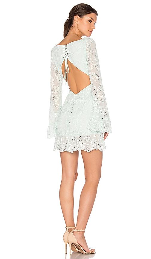 MAJORELLE Esmeralda Dress in Mint