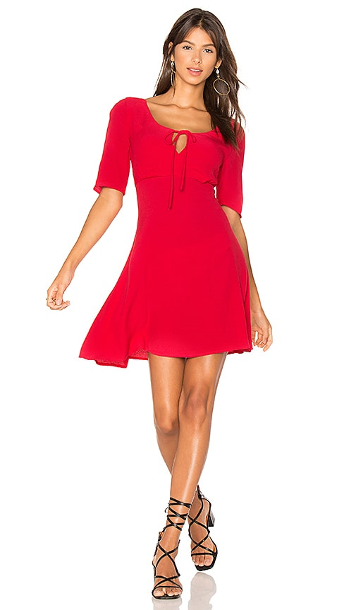 Majorelle MAJORELLE Stoneyridge Dress in Red.
