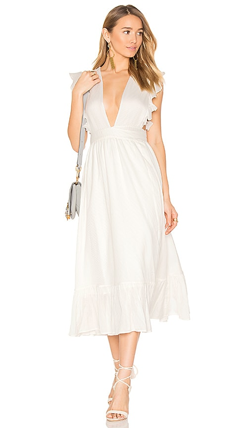 MAJORELLE Mistwood Dress in Ivory