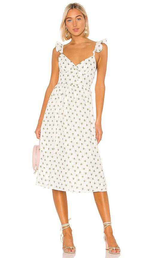 Maura Midi Dress by Majorelle