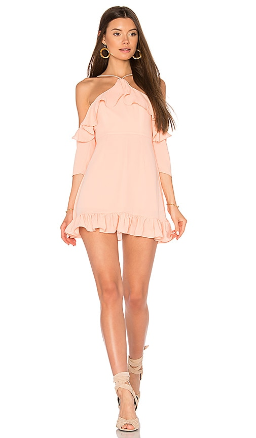 Majorelle MAJORELLE x REVOLVE Valley Dress in Coral.