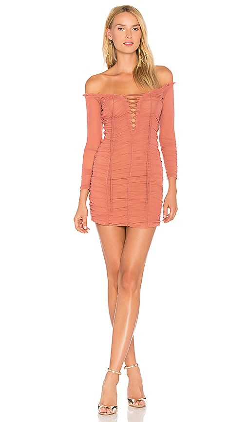 MAJORELLE Darling Dress in Rose