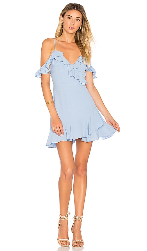 MAJORELLE Salsa Dress in Blue