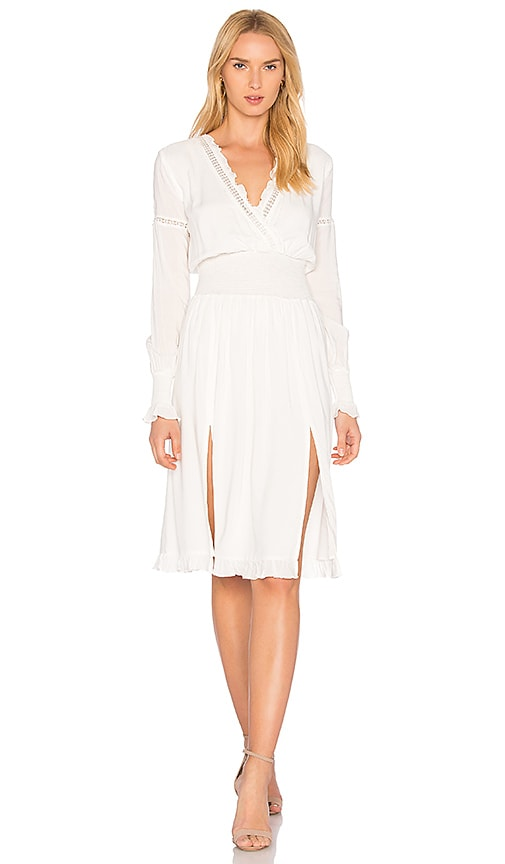 Majorelle MAJORELLE Garnet Dress in White.