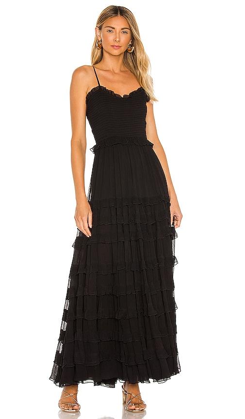 MAJORELLE Mimi Maxi Dress in Black | REVOLVE