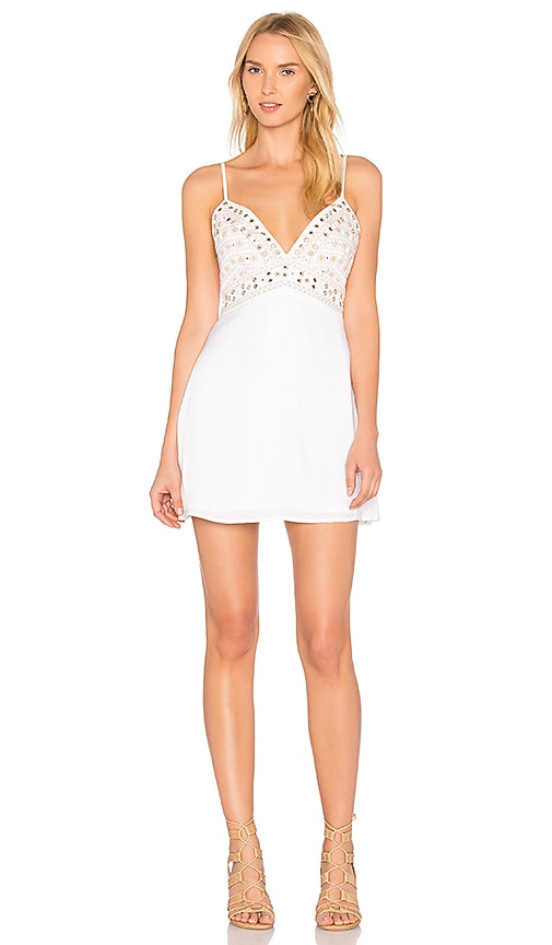 MAJORELLE Anchor Dress in Ivory
