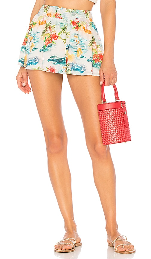 Hawaiian Majorelle MultiRevolve Livvy Short In 9DWIHE2