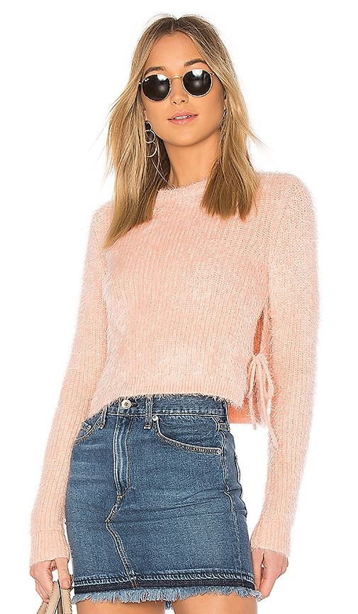 MAJORELLE Marjorie Sweater in Pink
