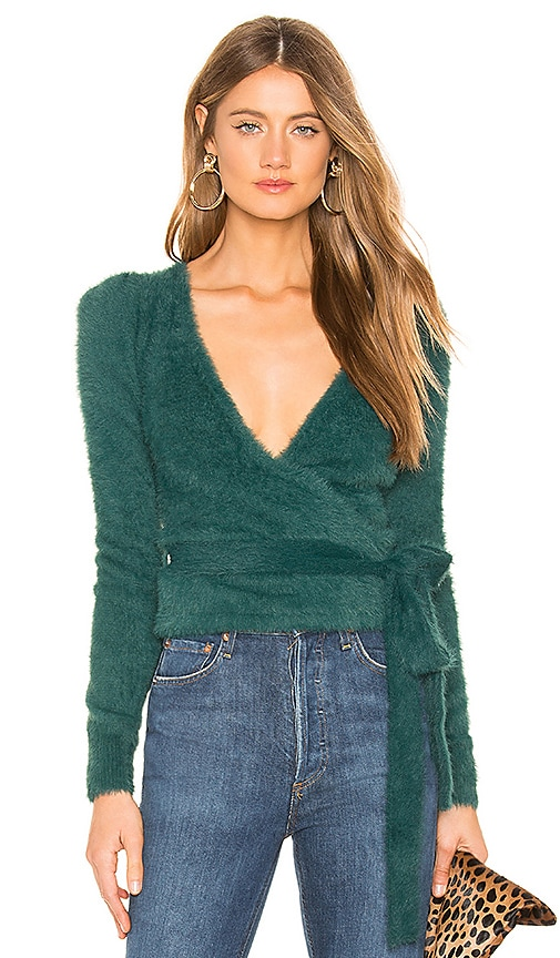 Coco Wrap Sweater