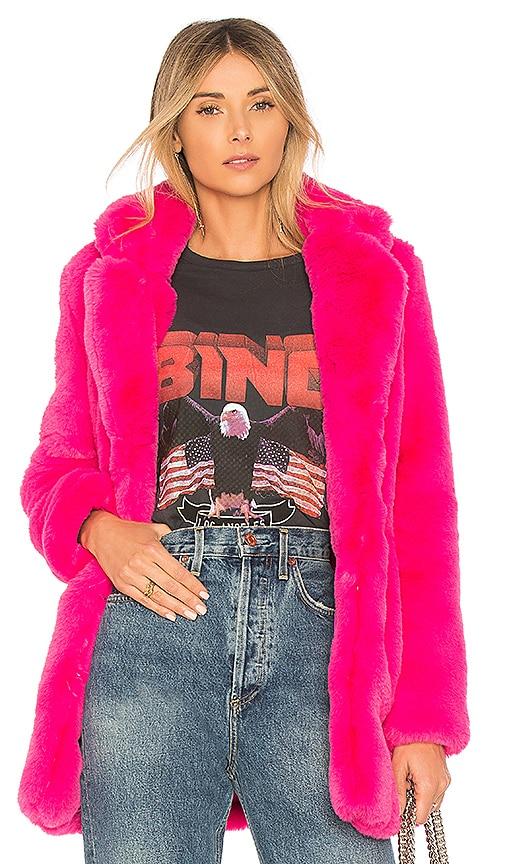 Amora Faux Fur Coat