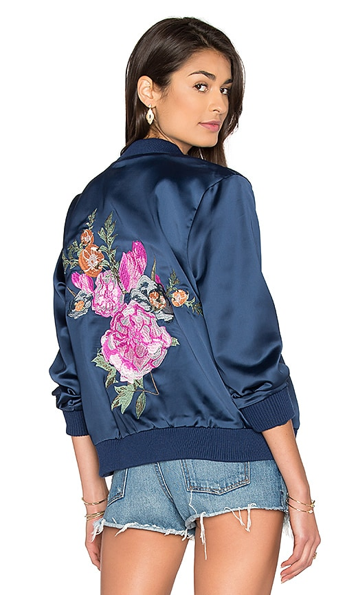 MAJORELLE x REVOLVE Rose Bowl Jacket in Navy