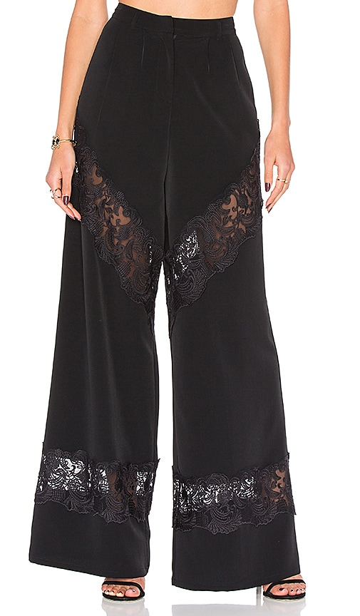 MAJORELLE Amanda Pant in Black
