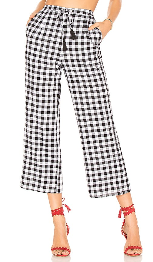 MAJORELLE Theo Pant in Black & White