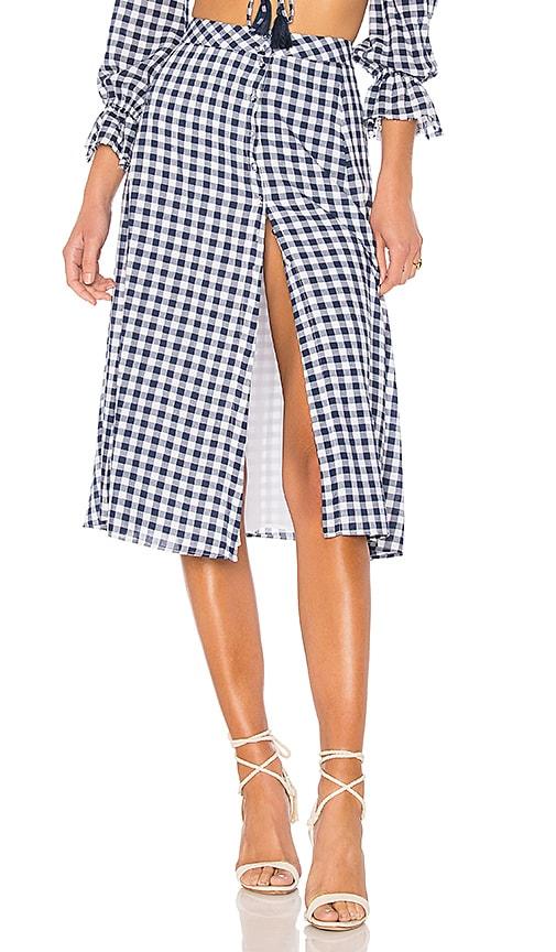 MAJORELLE x REVOLVE Emery Skirt in Blue