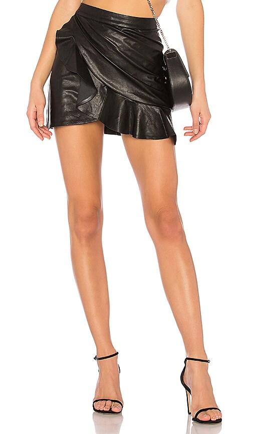 MAJORELLE Poseidon Skirt in Black