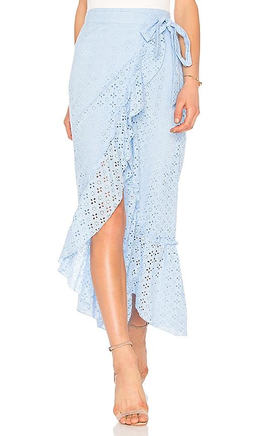 MAJORELLE Peanut Skirt in Blue