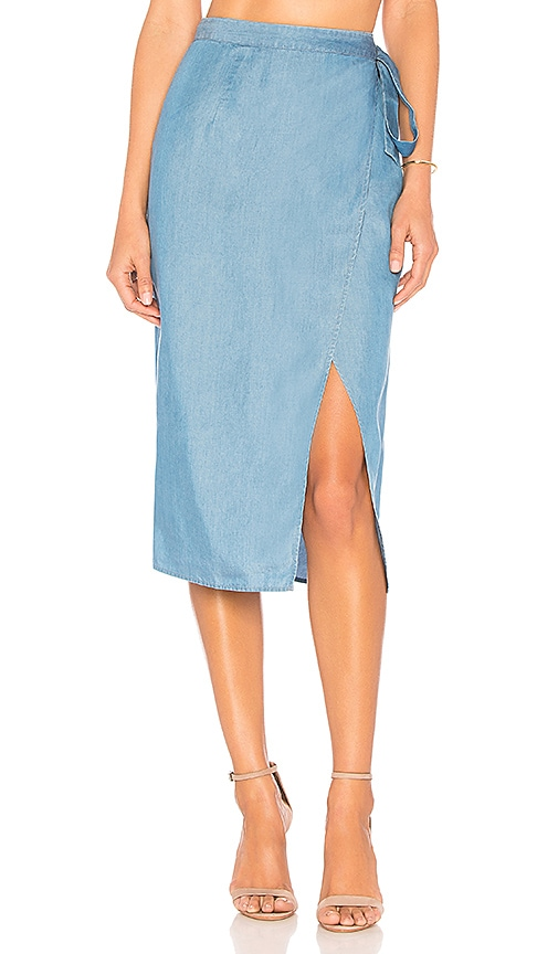 MAJORELLE Louie Skirt in Blue