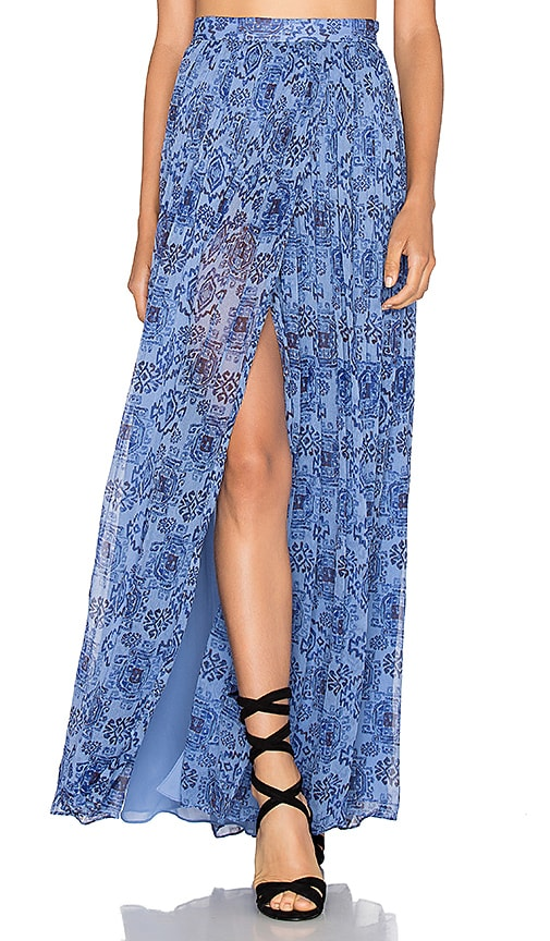 MAJORELLE Taos Skirt in Blue